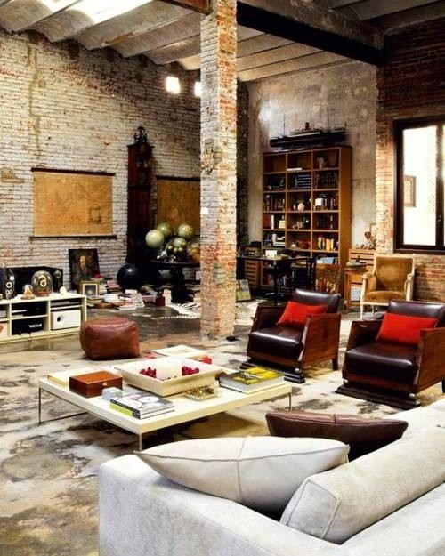 ¿Te gustan los espacios abiertos y con un toque industrial? Lo tuyo es el estilo loft
