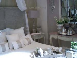blanc de provence decoracion cama