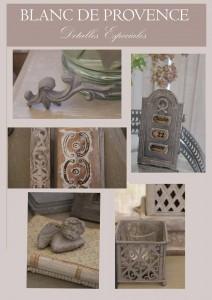 Blanc de Provence detalles para decorar