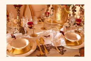 Zara Escuela Madrileña de decoración navidad mesa
