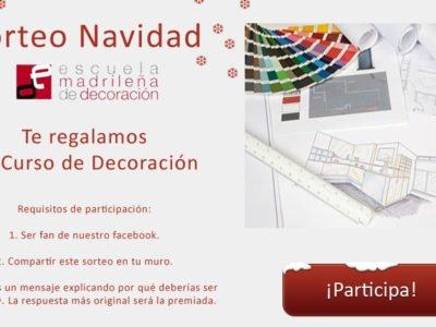 Concurso facebook Navidad Escuela Madrileña de Decoración