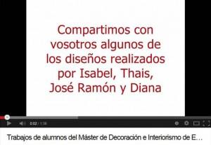 Youtube Escuela Madrileña de Decoracion