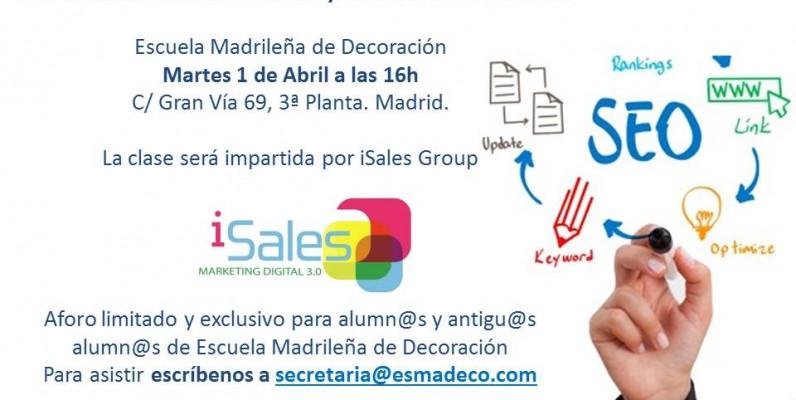 SEO Escuela Madrileña de Decoración esmadeco