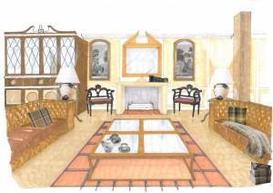 dibujo alumno esmadeco escuela decoración