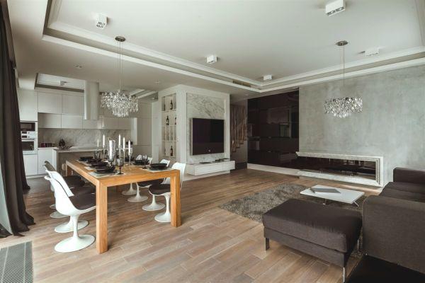 Apartamento de lujo en Varsovia diseñado con elegancia atemporal
