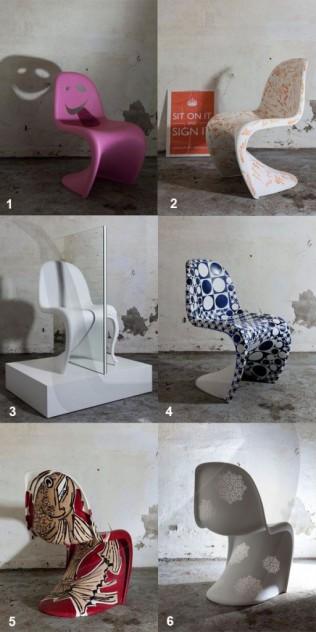 sillas panton esmadeco decoración escuela