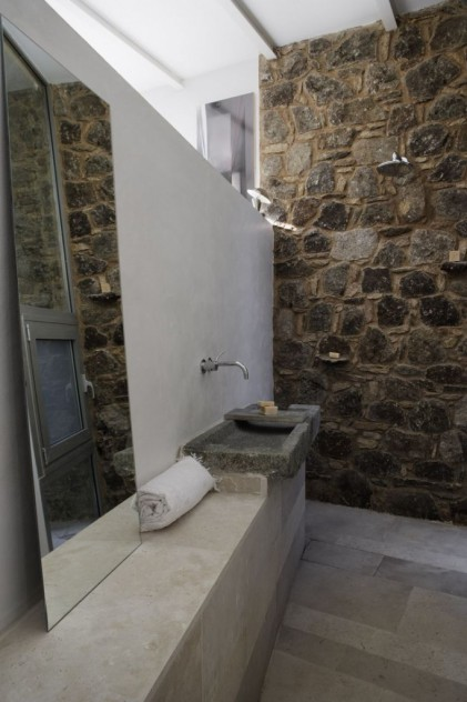 baño hormigón cemento decoración esmadeco