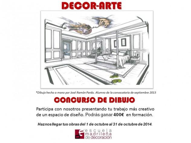 Concurso de Dibujo Escuela Madrileña de Decoración