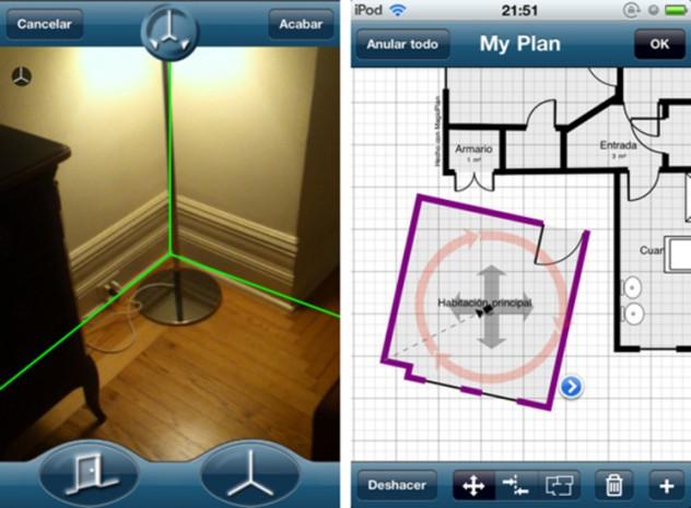 Apps que te ayudan a decorar interfaz