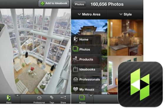 Apps que te ayudan a decorar ejemplo interfaz