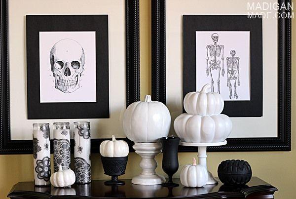 Ideas aterradoras para decorar en Halloween