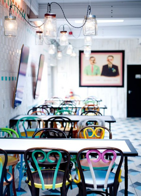 Dishoom Chowpatty Beach Bar pop up esmadeco escuela decoración
