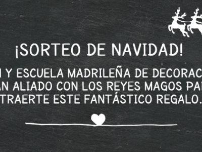 Sorteo de Navidad- Olhom y Escuela Madrileña de Decoración