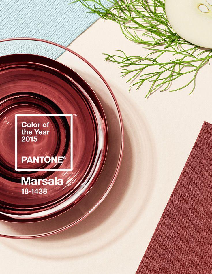 Pantone 2015: Marsala