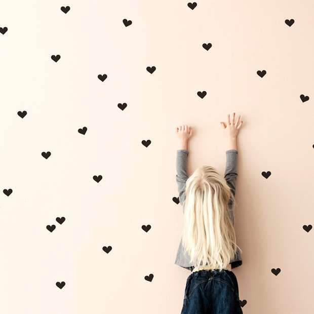 San Valentin Decora con corazones