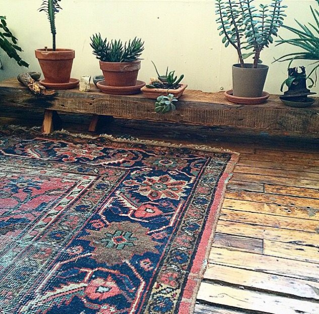 bohemian chic alfombra