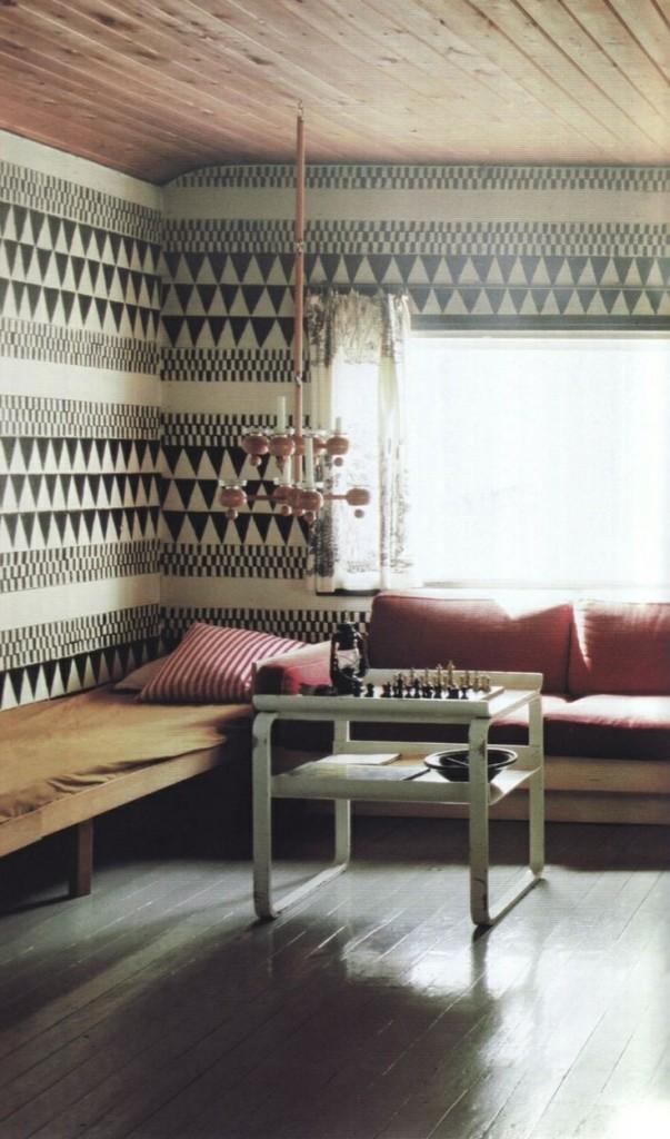 decoracion bohemian chic en salon