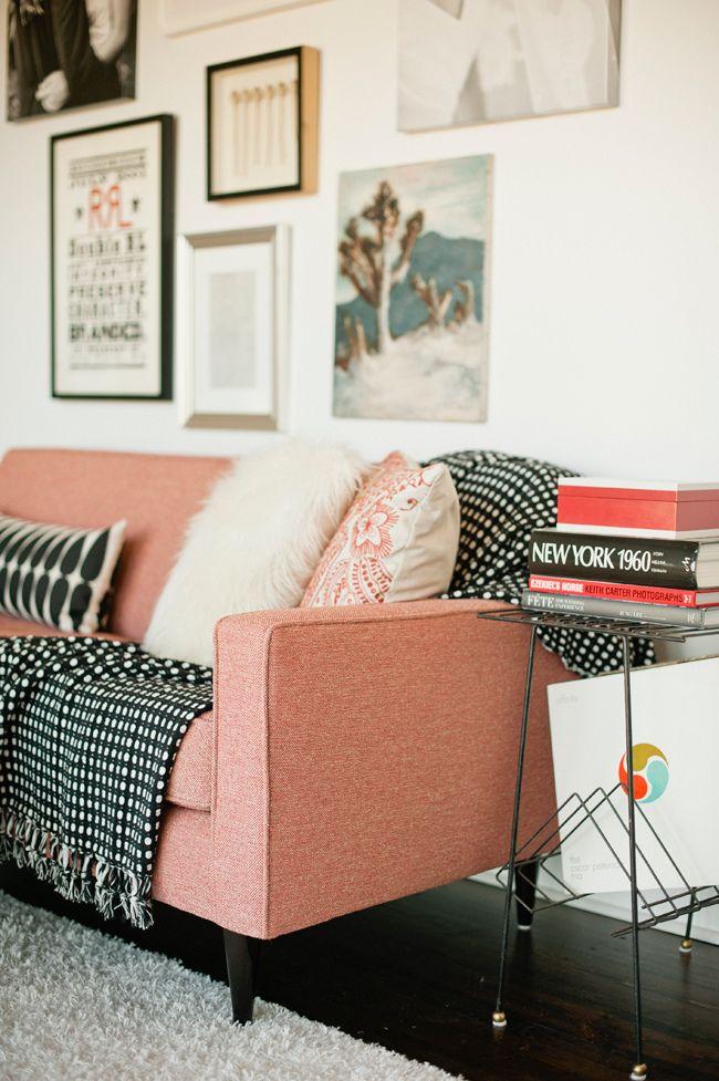 decoración con color rosa