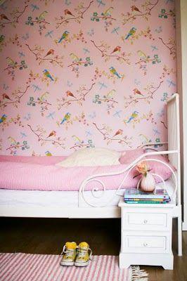 dormitorio infantil rosa