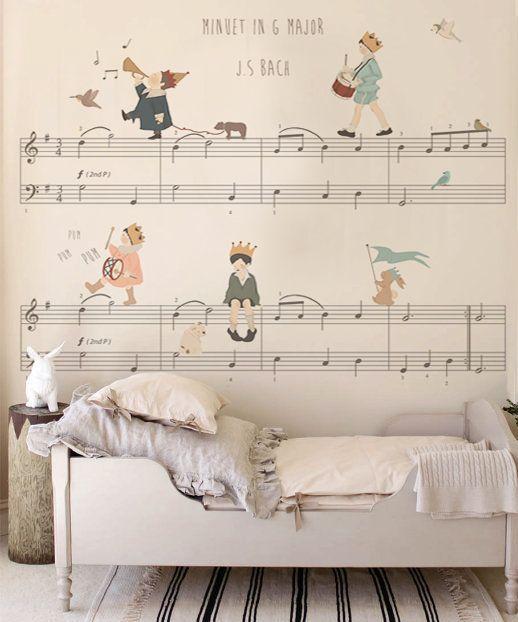 papel pintado dormitorio infantil
