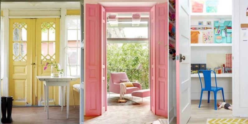 Decora tus puertas p ntalas de colores for Colores para pintar puertas de interior
