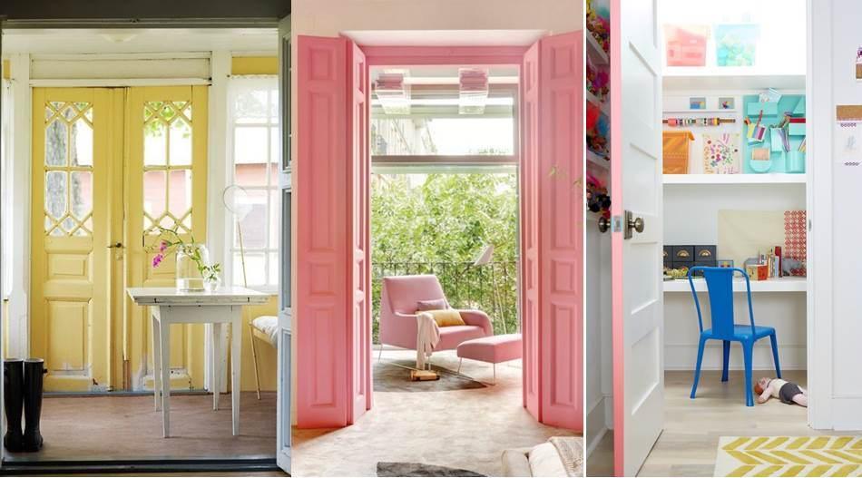 Decora tus puertas p ntalas de colores for Colores para puertas interiores