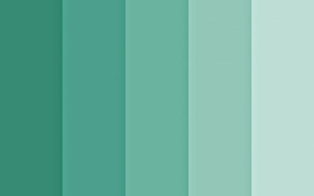 tendencia decoracion verde agua marina