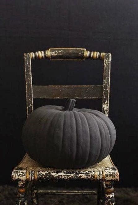 decoracion halloween calabazas negras