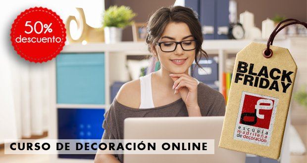 Curso decoracion online black friday 2015