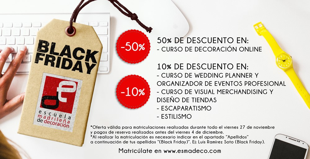 black friday 2015 esmadeco