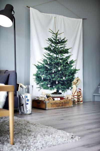 árbol de Navidad boho