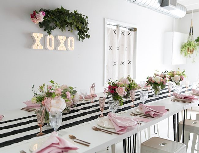 decoracion baby shower comedor