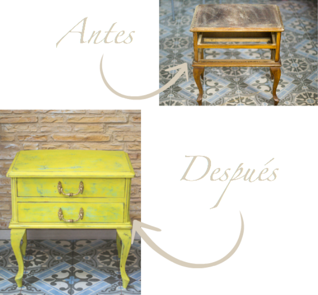 Chalk Paint antes despues