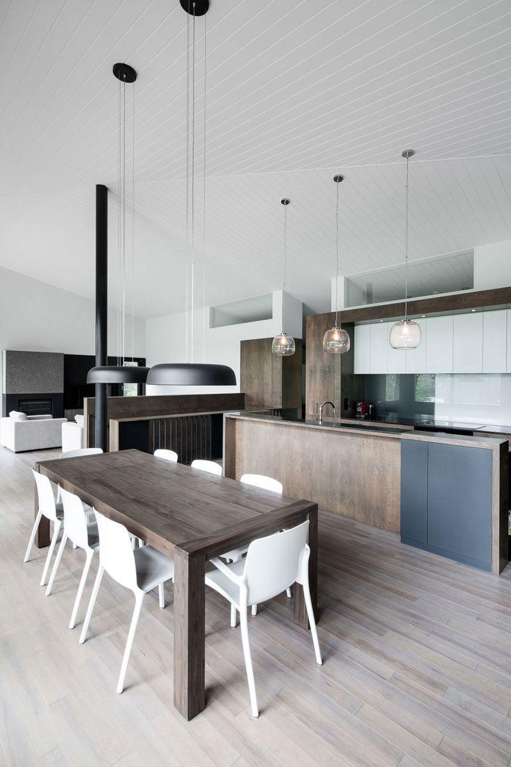 diseño de interiores cocina cocepto abierto