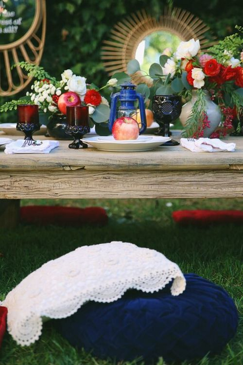 4 tipos diferentes de decoraci n de fiestas tem ticas for Planta ornamental blanca nieves