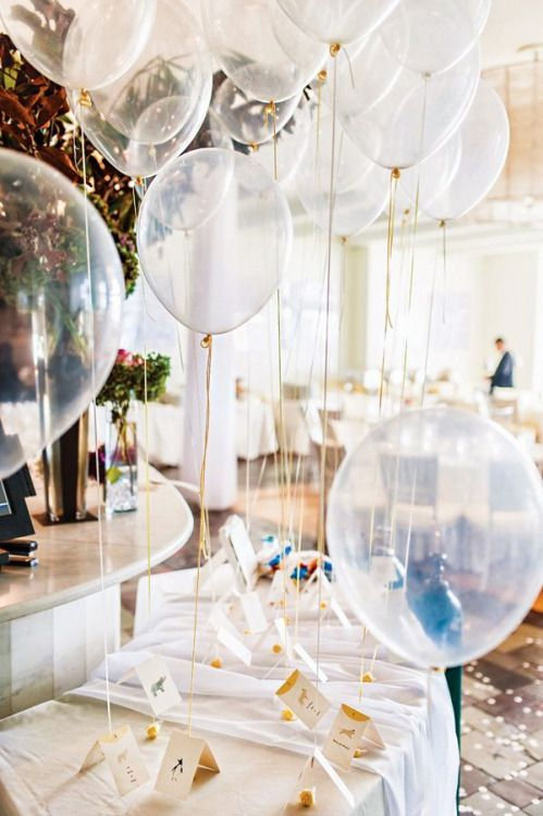decorar con globos bodas