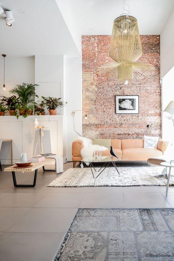 salon estilo loft
