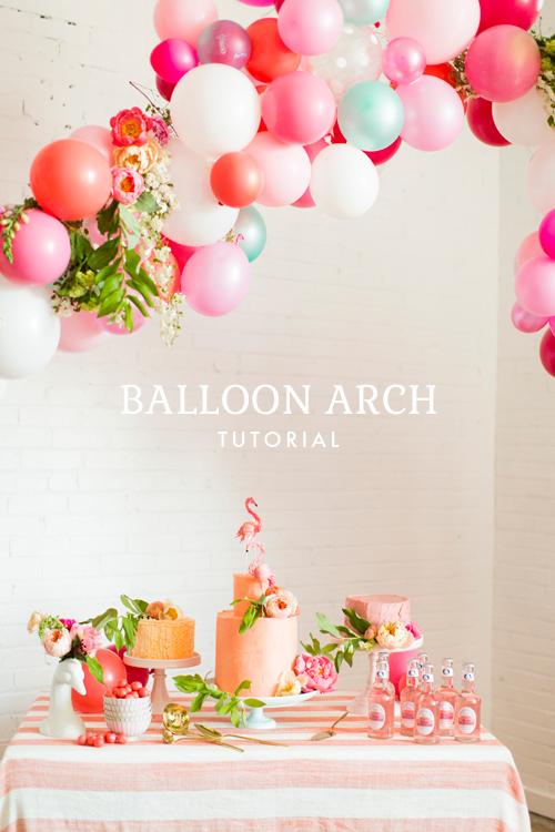 arco de globos de decoracion