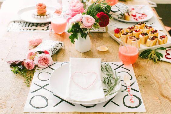 detalle mesa decoración san valentin