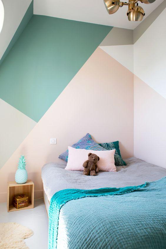 decoracion de interiores con formas geometricas
