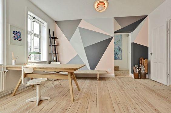 decoracion con formas geometricas