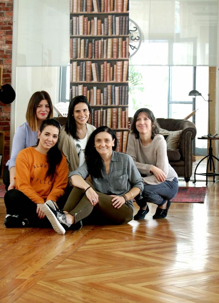 alumnas curso de estilismo esmadeco