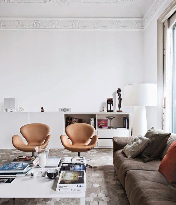 iconos del diseño sillas de salon