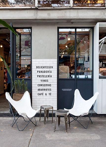 iconos del diseño sillas de calle