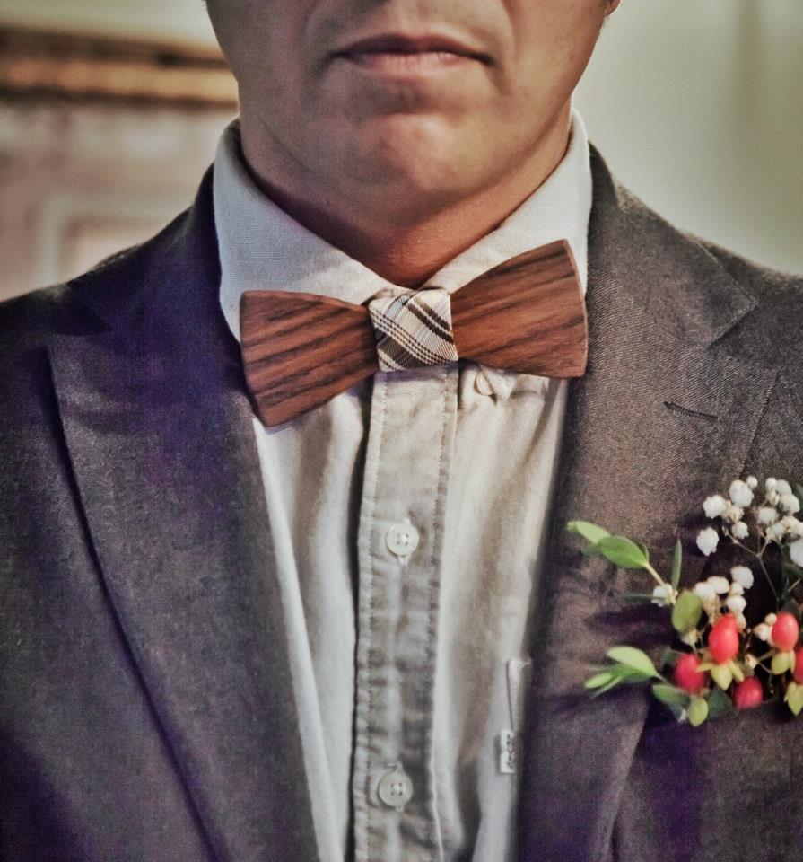 las flores en el novio