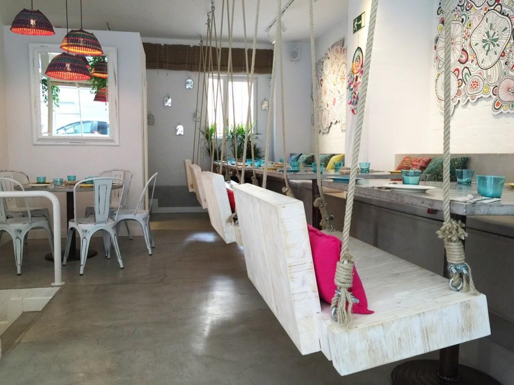 boho bar decoracion interior