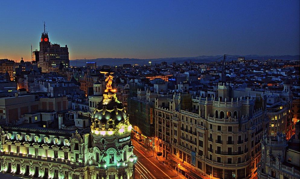 terraza de diseño del Círculo de Bellas Artes Madrid