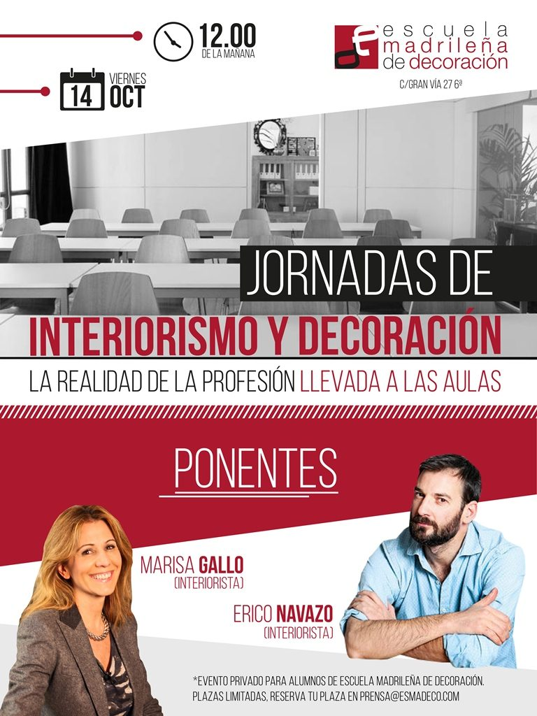 jornadas interiorismo y decoración