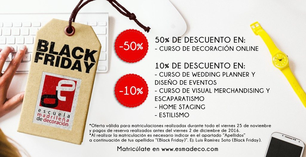 black friday 2016 en esmadeco