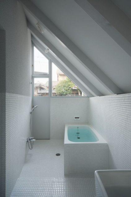 baño de casa japonesa inusual